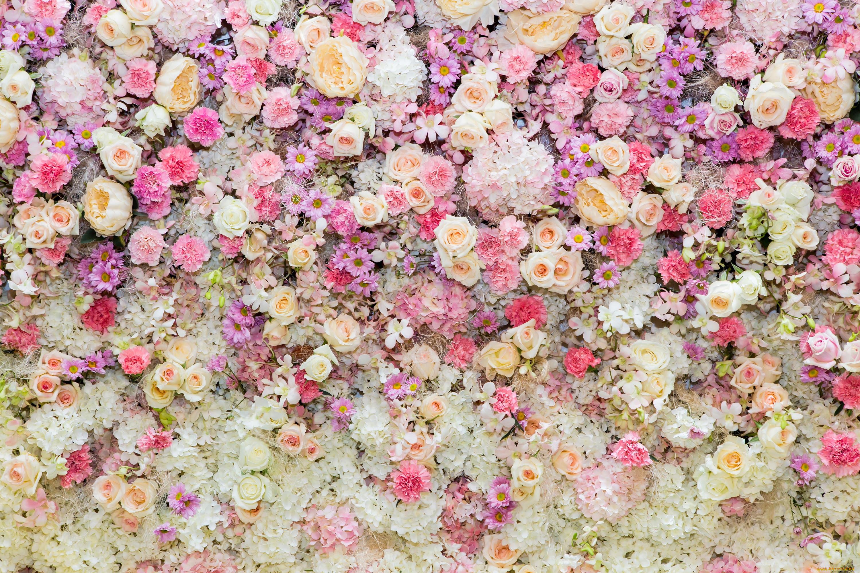 для красивый фон с цветочками картинка интерьере
